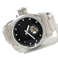 INVICTA MEN'S RUSSIAN DIVER SCUBA DIVER TOURBILLON STAINLESS BRACELET WATCH