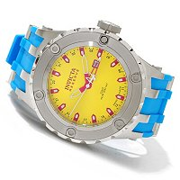 "INVICTA RESERVE MEN'S SPECIALTY SUBAQUA ""PUPPY EDITION"" SWISS GMT STRAP WATCH"