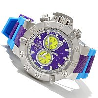"INVICTA MEN'S SUBAQUA NOMA III ""PUPPY EDITION"" SWISS QUARTZ GMT STRAP WATCH"