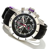 INVICTA MEN'S PRO DIVER BARON QUARTZ CHRONOGRAPH STRAP WATCH
