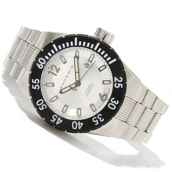 619-144 - Android Men's DM Contender 9015 Automatic Stainless Steel Bracelet Watch