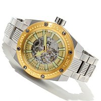 Android Grand or Mid Powerjet Skeleton Automatic Bracelet Watch