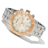 INVICTA MEN'S PRO DIVER ELITE QUARTZ CHRONOGRAPH STAINLESS BRACELET WATCH