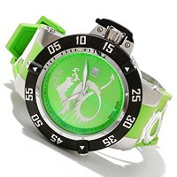 INVICTA MEN'S SUBAQUA NOMA III DRAGON QUARTZ STRAP WATCH