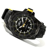 INVICTA MEN'S PRO DIVER OCEAN BARON QUARTZ STRAP WATCH W/ 3 DIVE CASE