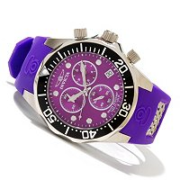 INVICTA MEN'S GRAND DIVE QUARTZ CHRONOGRAPH STRAP WATCH