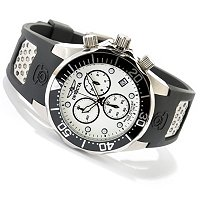 INVICTA MEN'S GRAND DIVE QUARTZ CHRONOGRAPH LUME DIAL STRAP WATCH