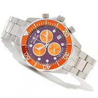 INVICTA MEN'S GRAND DIVE QUARTZ CHRONOGRAPH STAINLESS BRACELET WATCH