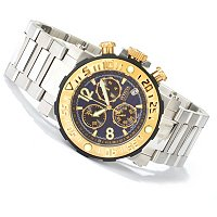 INVICTA RESERVE MEN'S SEA ROVER SWISS CHRONOGRAPH BRACELET WATCH W/3 SLOT DC