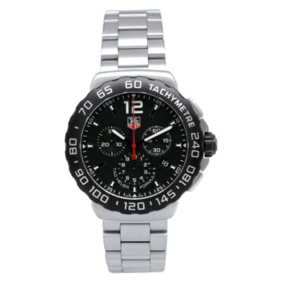 619-297 - Tag Heuer Men's Formula 1 Swiss Made Quartz Chronograph Stainless Steel Bracelet Watch