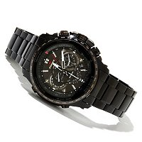 CASIO MEN'S EDIFICE BLACK LABEL SOLAR POWER BRACELET WATCH