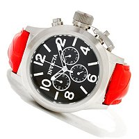 INVICTA MEN'S CORDUBA QUARTZ CHRONOGRAPH ALLIGATOR STRAP WATCH