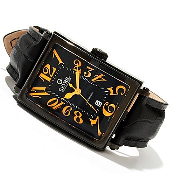 619-368 - Gevril Men's Avenue of Americas Limited Edition Swiss Made Automatic Strap Watch