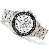 INVICTA MEN'S SPEEDWAY II QUARTZ CHRONO BRACELET WATCH W/ 3 DC