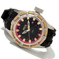 INVICTA RESERVE MEN'S BOLT SWISS GMT STRAP WATCH