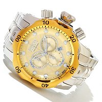 INVICTA RESERVE MEN'S VENOM SWISS CHRONO STAINLESS BRACELET WATCH