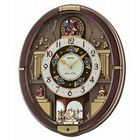 SEIKO MELODIES IN MOTION DANCING ELVES WALL CLOCK