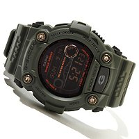 CASIO G SHOCK MILITARY 7900 SERIES SOLAR POWERED SELF- CHARGING STRAP WATCH