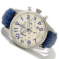 Dennisov Baracuda Men's Chronograph Strap Watch