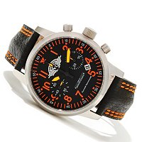 Moscow Classic Men's Sturmovik Chronograph Strap Watch