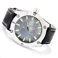 ANDROID MEN'S ANTIGRAVITY TUNGSTEN JUMPING HOUR STRAP WATCH