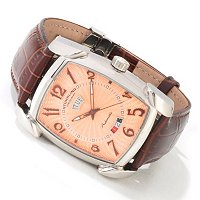 "Stuhrling Original Men's ""The Madison"" Automatic Strap Watch"