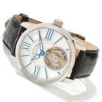 Stuhrling Original Men's Viceroy LE Mechanical Tourbillon Strap Watch