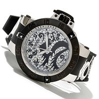 INVICTA MEN'S SUBAQUA NOMA III ARTIST DRAGON QUARTZ STRAP WATCH
