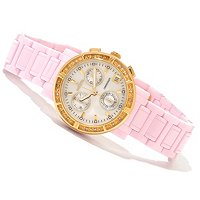 INVICTA WOMEN'S CERAMIC CLASSIQUE QUARTZ CHRONOGRAPH BRACELET WATCH