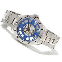 Stuhrling Original Men's Winchester Quartz Elite Automatic Bracelet Watch
