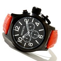 INVICTA MEN'S CORDUBA QUARTZ CHRONOGRAPH WOLFISH STRAP WATCH
