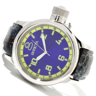 619-532 - Invicta Men's Russian Diver Quartz Stainless Steel Wolffish Strap Watch