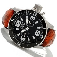 INVICTA MEN'S CORDUBA DIVER QUARTZ DAY & DATE WOLFISH STRAP WATCH