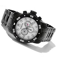 INVICTA MEN'S SCUBA QUARTZ CHRONOGRAPH STAINLESS BRACELET WATCH