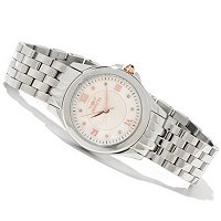 INVICTA WOMEN'S ANGEL QUARTZ MOP DIAL STAINLESS BRACELET WATCH