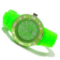 Adee Kaye Women's Date Silicon Strap Watch