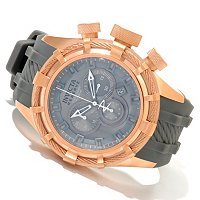 INVICTA MEN'S RESERVE BOLT SWISS MADE QUARTZ CHRONO STRAP WATCH