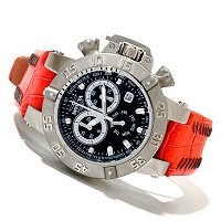 INVICTA WOMEN'S SUBAQUA QUARTZ CHRONO STRAP WATCH