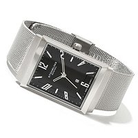 Stuhrling Original Men's Prospect Quartz Mesh Bracelet Watch