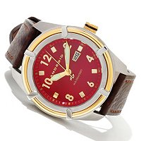 Android Men's Naval Quartz Leather Strap Watch