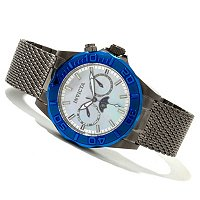 INVICTA MEN'S OR WOMEN'S SEA WIZARD QUARTZ MULITCALENDAR BRACELET WATCH