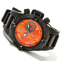 INVICTA MID SIZE SUBAQUA SWISS MADE QUARTZ CHRONO STRAP WATCH