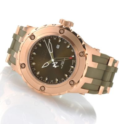 619-918 - Invicta Reserve Men's Specialty Subaqua Swiss Made Quartz GMT Strap Watch