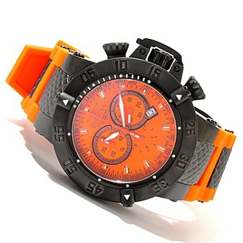619-920 - Invicta Men's Subaqua Noma III Swiss Quartz Chronograph Silicone Strap Watch