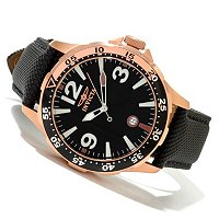INVICTA MEN'S SPECIALTY OCEAN QUARTZ STRAP WATCH