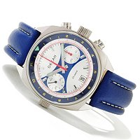 Sturmanskie Ocean Edition Russian Mechanical Chronograph Leather Strap Watch