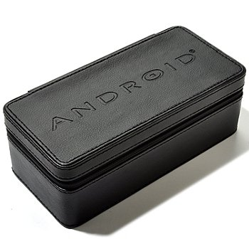 619-947 - Android Three-Slot Leatherette Travel Case