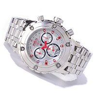 Invicta Reserve Mens Specialty Subaqua Swiss Chrono Polished Bracelet Watch