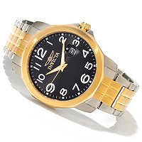 INVICTA MEN'S SPECIALTY QUARTZ MOVEMENT STAINLESS STEEL BRACELET WATCH