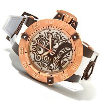 INVICTA MEN'S SUBAQUA NOMA III QUARTZ ARTIST DRAGON SILICONE STRAP WATCH